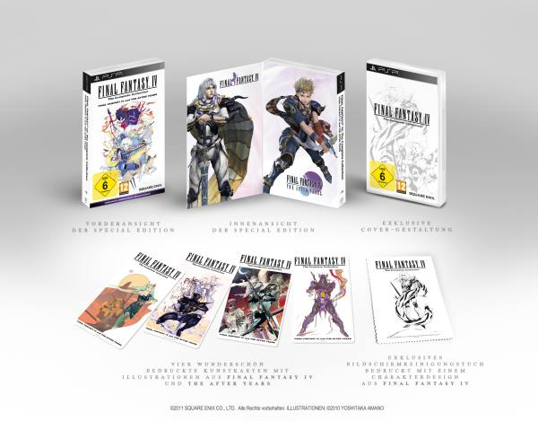 So sieht die Final Fantasy IV: Complete Collection aus