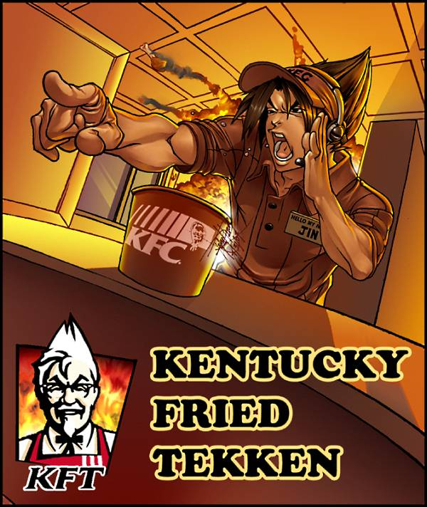 Kentucky Fried Tekken is awesome