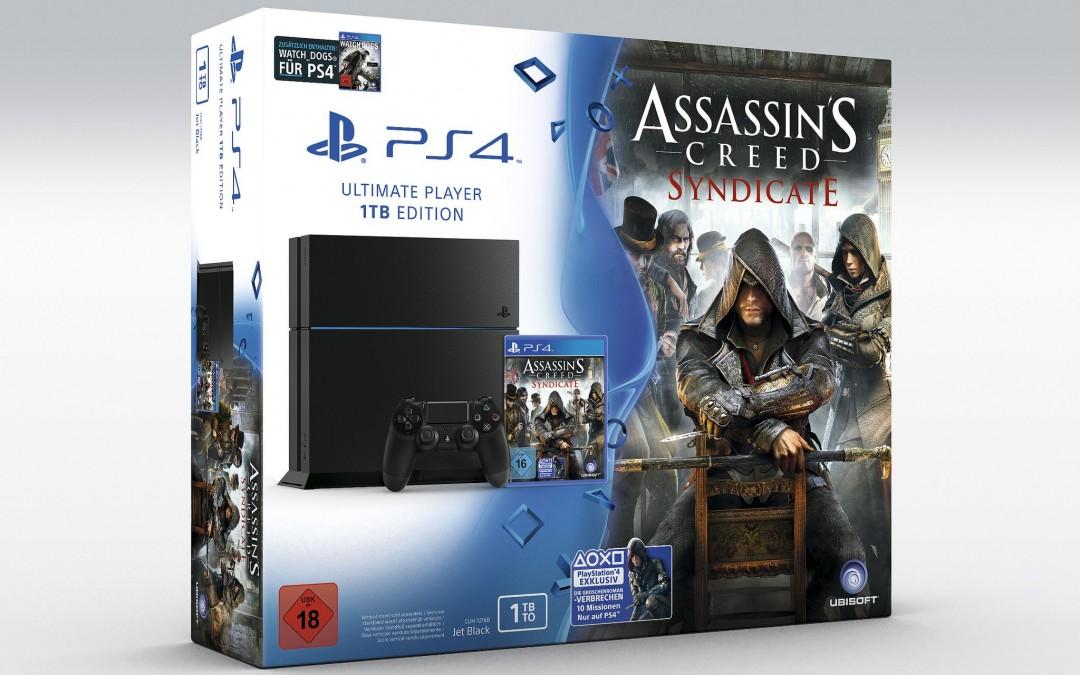 Sony enthüllt PlayStation 4 Bundle zu Assassin's Creed: Syndicate