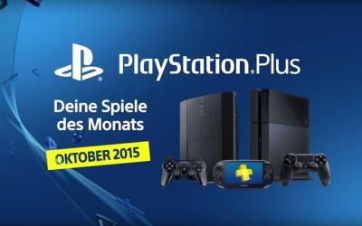 Das sind die kostenlosen PlayStation Plus Spiele für Oktober
