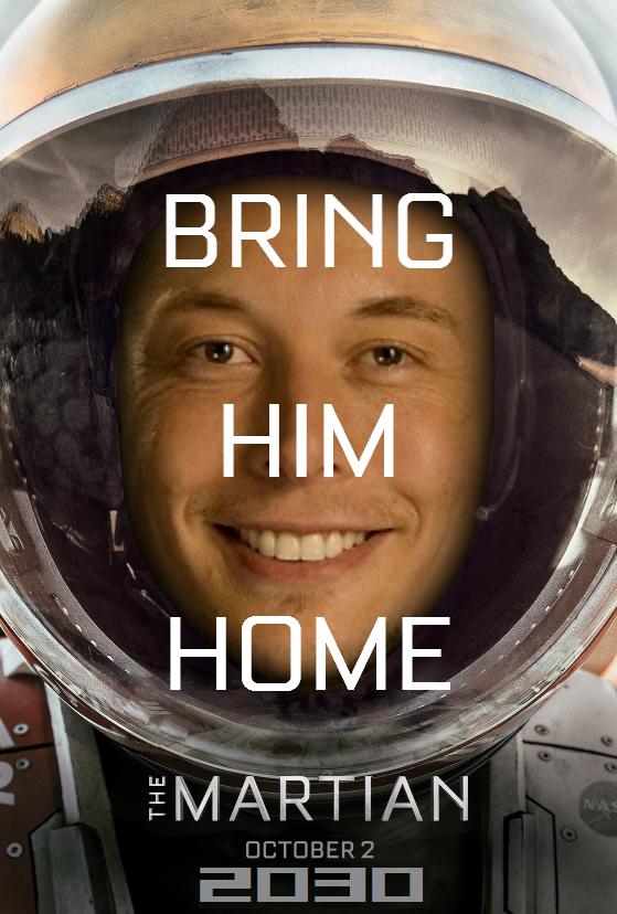 The Martian Bring Him Home Starseven