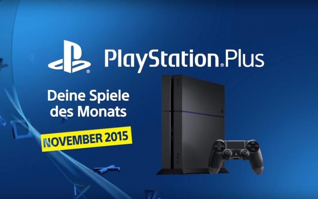 Das erwartet dich im November bei PlayStation Plus