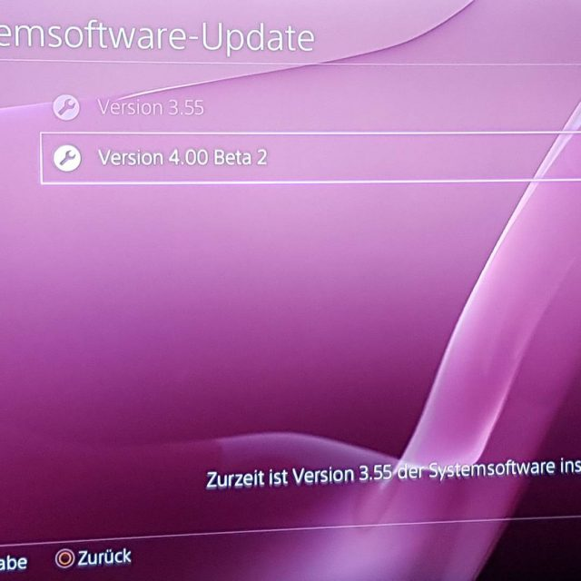 Mge der Betatest beginnen beta PlayStation PS4 firmwareupdate 4thePlayers LebenAmLimit