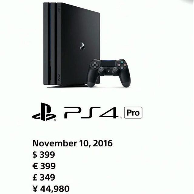 Das ist sie also die neue PlayStationPro von Sony Abhellip
