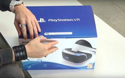 PlayStation VR Unboxing – das steckt in der Box