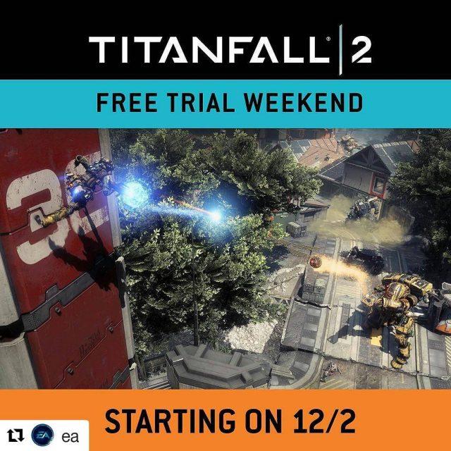 Ab 2 Dezember startet das kostenlose Multiplayer Wochenende zu Titanfall2hellip