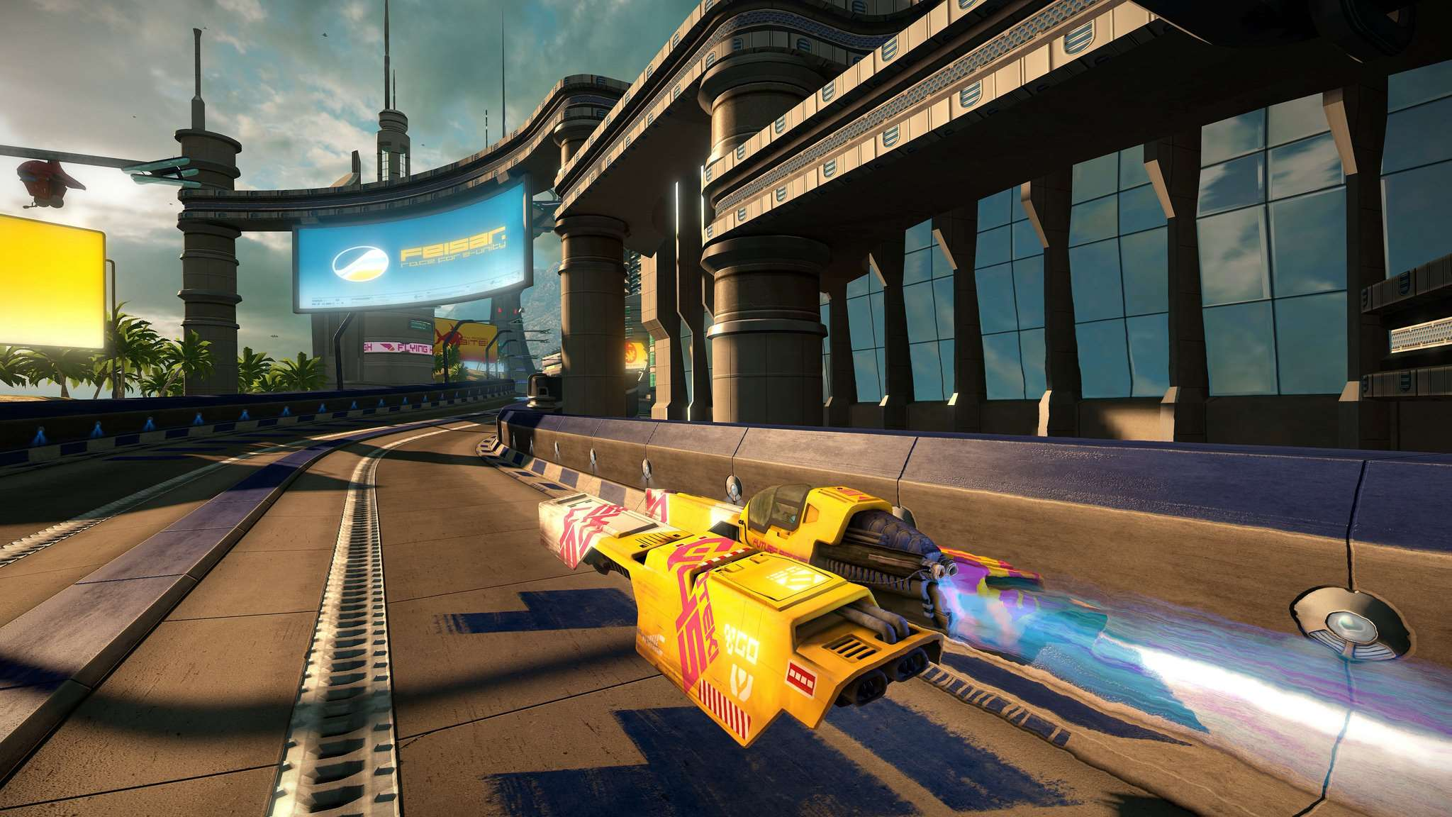 WipEout Omega Collection Starseven