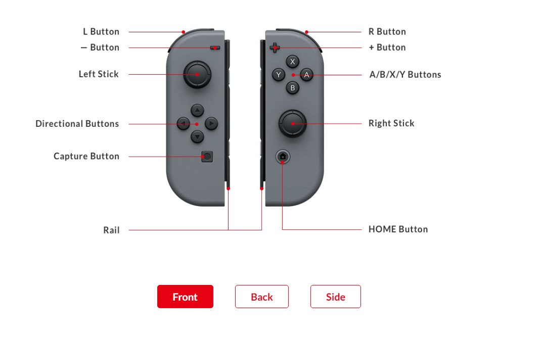 Nintendo Switch Starseven Joy-Con