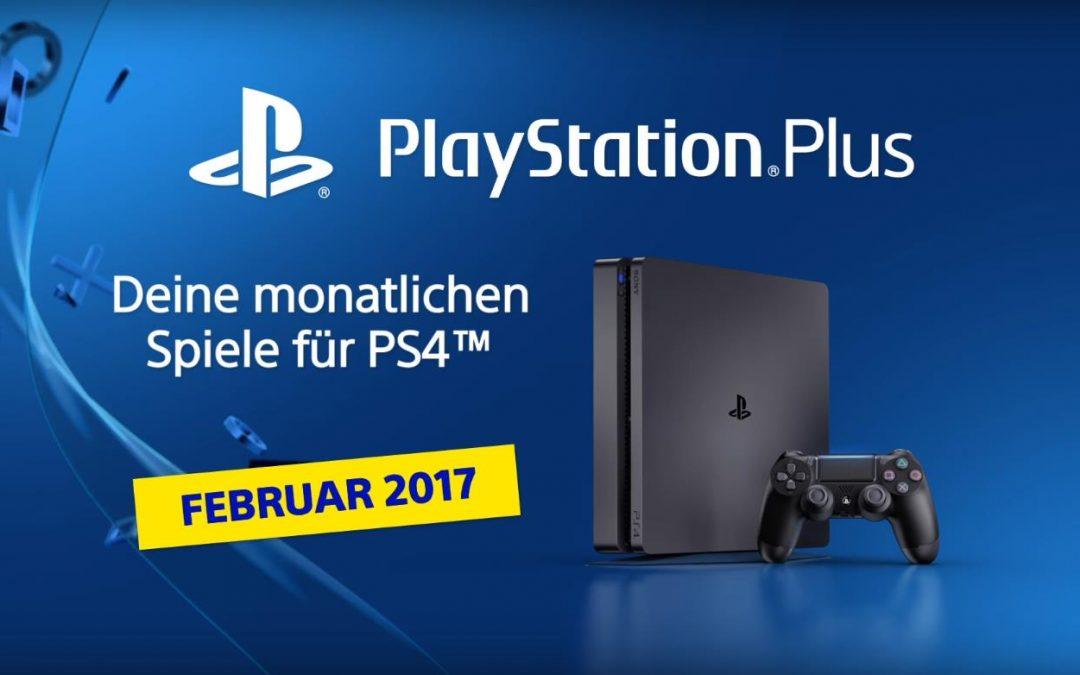 Das sind die PlayStation Plus Spiele für Februar 2017