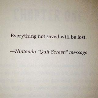 Ein Klassiker aus der Videospielgeschichte Regt auch etwas zum Nachdenkenhellip