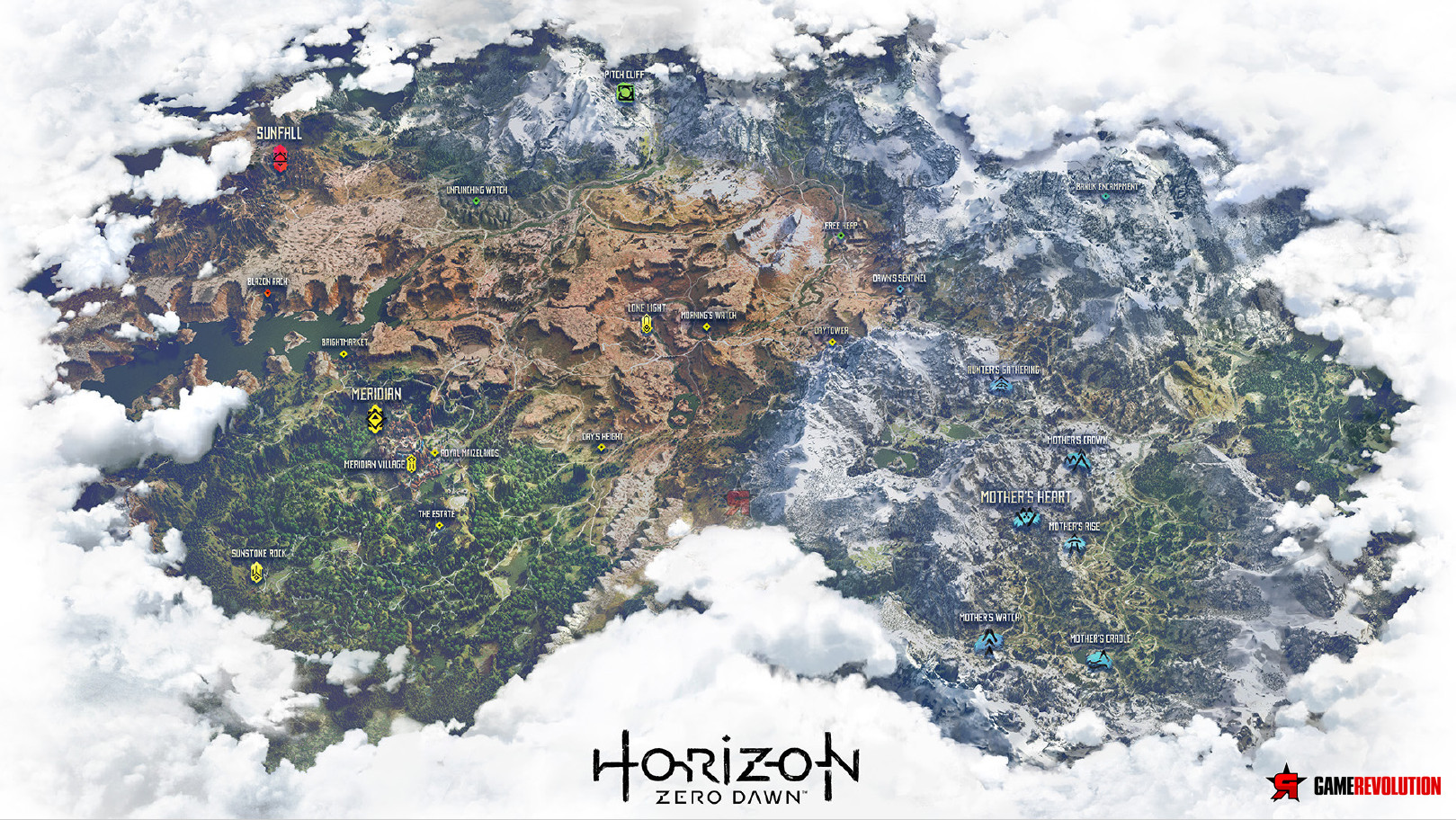 Full Map Horizon Zero Dawn Starseven
