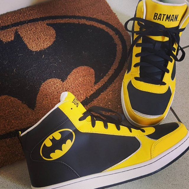 Tja einmal Nerd immer Nerd Batman shoes DC dccomics nerdhellip